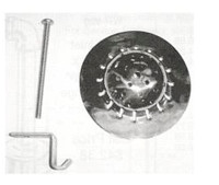 White Racker Wr-904ss Universal Beehive Urinal Strainer