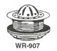 "White Racker Wr-907 4 3/8"" Beehive Cp Cast Brass Strainer"