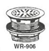"""White Racker Wr-906 4 3/8"""" Cp Cast Brass Strainer"""
