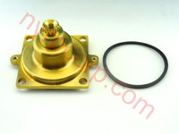 """Lawler 71982-11 1/2"""" Rough Brass Recesso Cover & Spindle Kit E"""