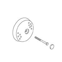 Kohler 1001384-7 Suction Cover Service Kit - Black