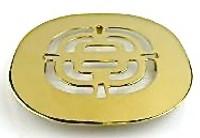 Fiat Tt4t-049-2 Drain Cover Polished Brass