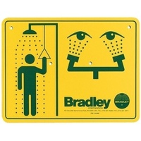 Bradley 114-052 Safety Sign