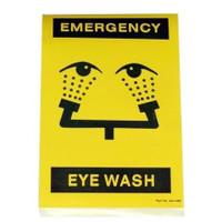 Bradley 204-486 Emergency Sign
