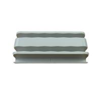 """Kohler 1241031-01 Center Guide- 1/4"""" (Cool Grey)"""