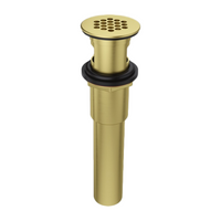 Price Pfister 972-104BG Grid Strainer with Overflow Brushed Gold