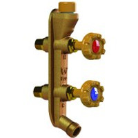 Woodford V122C Hot & Cold Residential Mild Climate Wall Faucet.