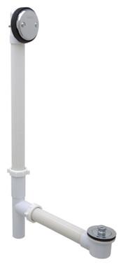 Gerber 41-553 Gerber Classics PVC Lift & Turn Drain for Roman Tub Chrome