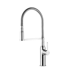 Kwc 10.261.432.000 Sin Single Lever Pull-Down Kitchen Faucet, Chrome