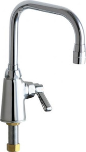 New Chicago Faucets 701-COLDCP Deck Mount Single Supply Lavatory Faucet