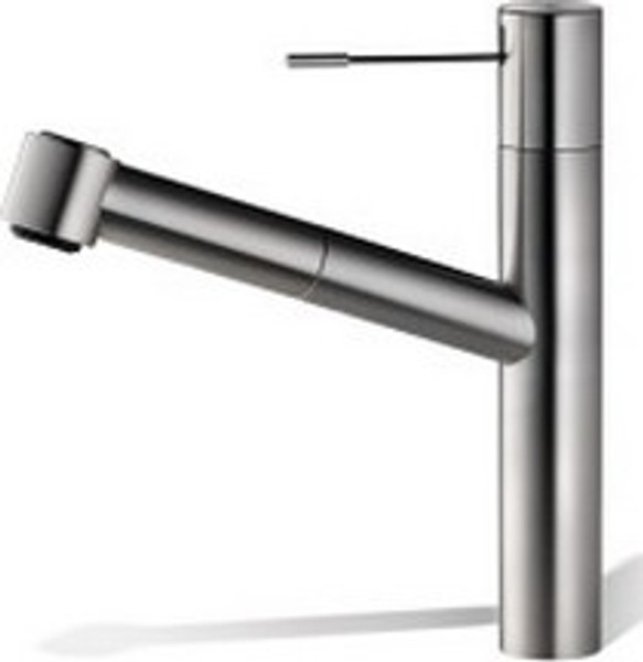 Kwc 10.151.033.700 Ono Single Lever Pull-Out Kitchen Faucet, Splendure  Stainless Steel