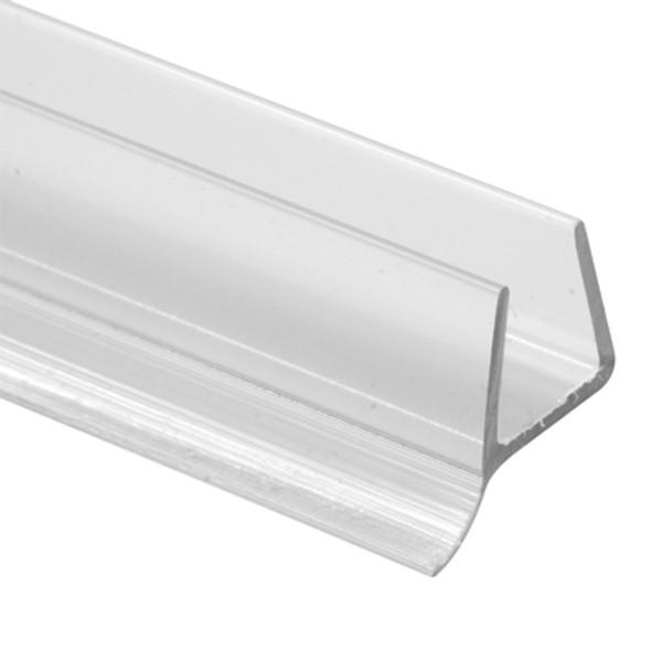New Clear M 6258  Frameless Shower Door Bottom Seal x 36 in. 3//8 in Vinyl