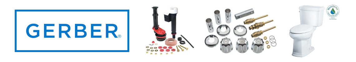 Gerber Faucet, Shower and Toilet Parts