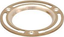 Matco-Norca CF-400 4 X 3 Cast Brass Closet Flange, M78245