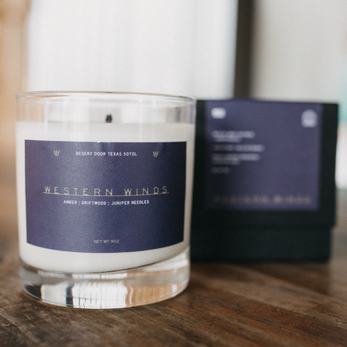 Western Winds Candle