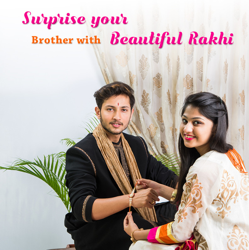 Surprise your brother with Beautiful Rakhi