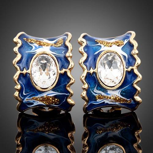 18K Rose Gold Plated SWA ELEMENTS Transparent Austrian Crystal 25pcs Gold Color Beads Flower Brooch