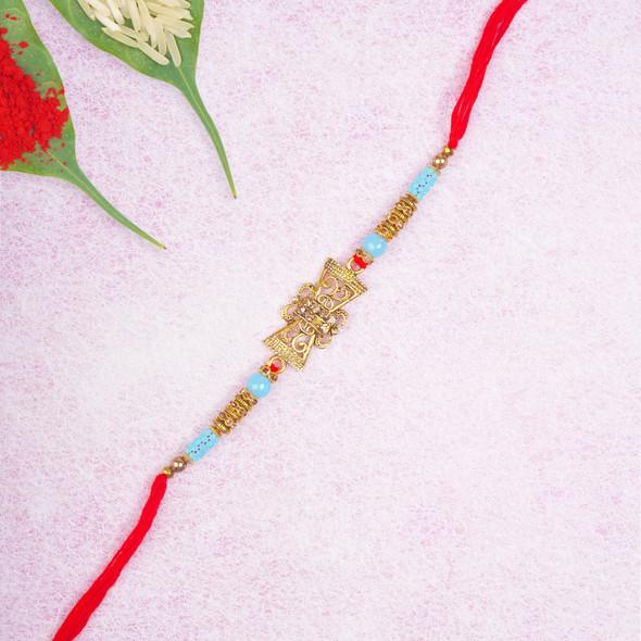 Exquisite Royal King Designer Rakhi- For USA