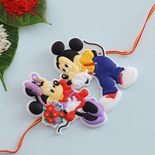 Micky Mouse Cartoon Rakhi - For UK