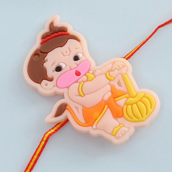 Veer Hanuman Kids Rakhi - For UK