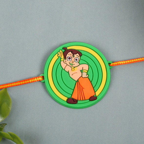 Chota Bheem Cartoon Rakhi - For UK