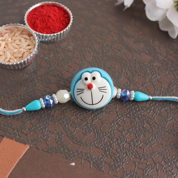 Doraemon Rakhi for Kids - For INDIA