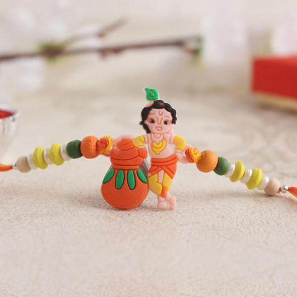Sweet Krishna Rakhi - For INDIA
