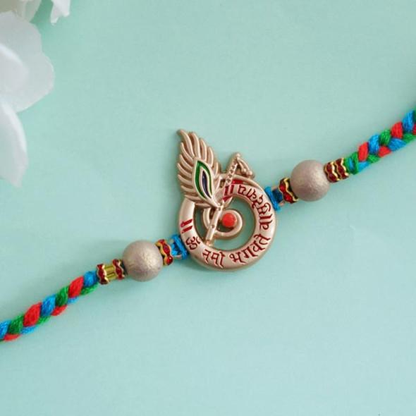 Elegant Designer Krishna Rakhi- For INDIA