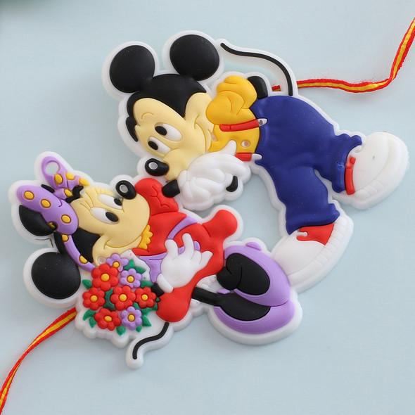 Cartoon Mickey Mouse Rakhi - For Canada