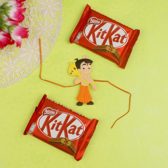 Two Chocolates with Kids Chota Bheem - For Canada