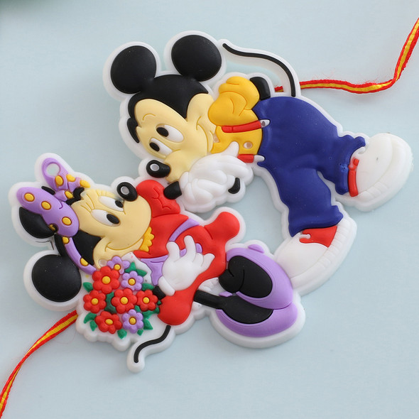 Micky Mouse Cartoon Kids Rakhi - For USA