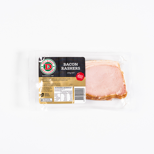 Bacon Rashers 250g
