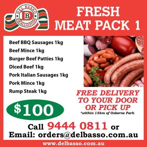 Fresh Meat Pack $100 Special