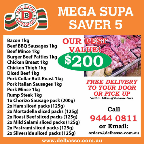 Mega Supa Saver $200