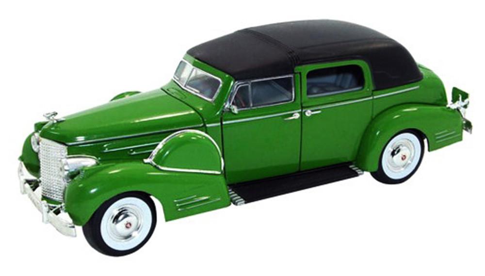 1938 Cadillac Fleetwood, Green - Signature Models 32340 - 1/32 Scale Diecast Model Toy Car