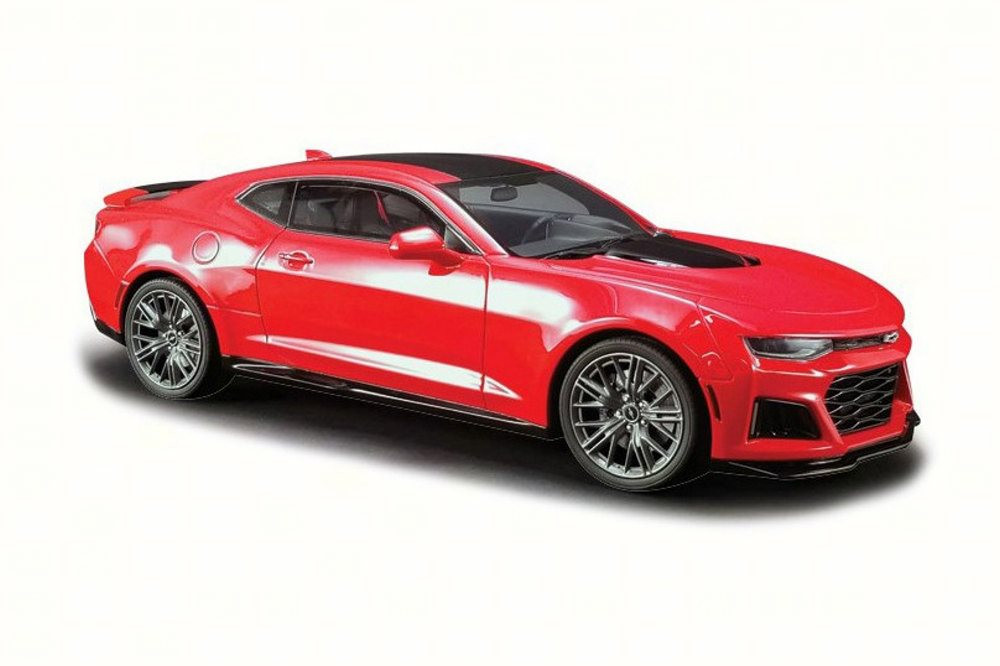 2017 Chevy Camaro Coupe, Red - GT Spirit US012 - 1/18 scale Resin Model Toy Car