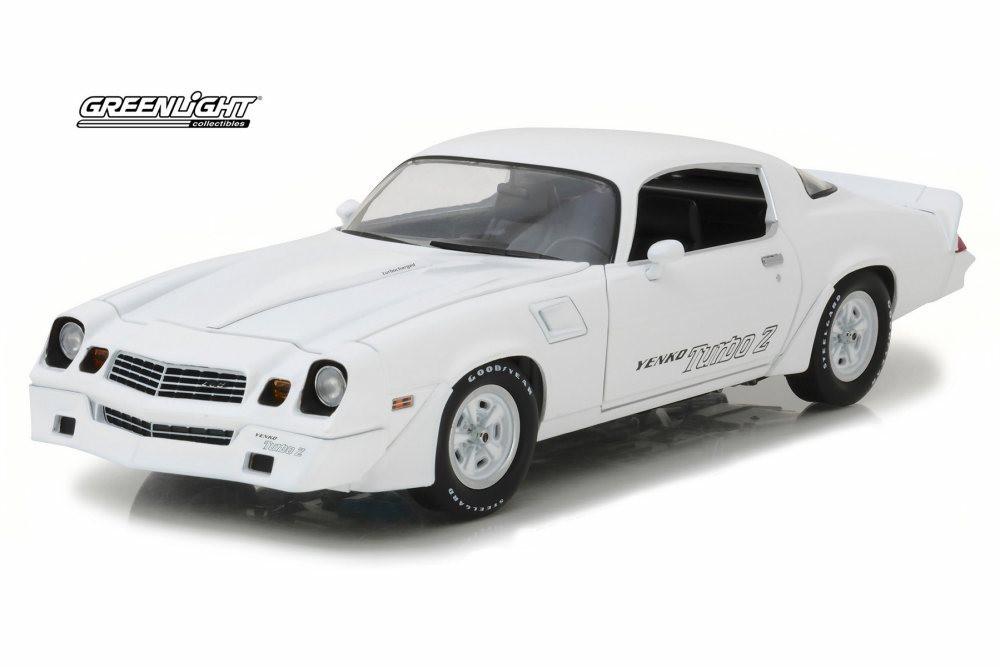 1981 Chevy Camaro Yenko Z28 Turbo Z, White - Greenlight 12998 - 1/18 Scale Diecast Model Toy Car