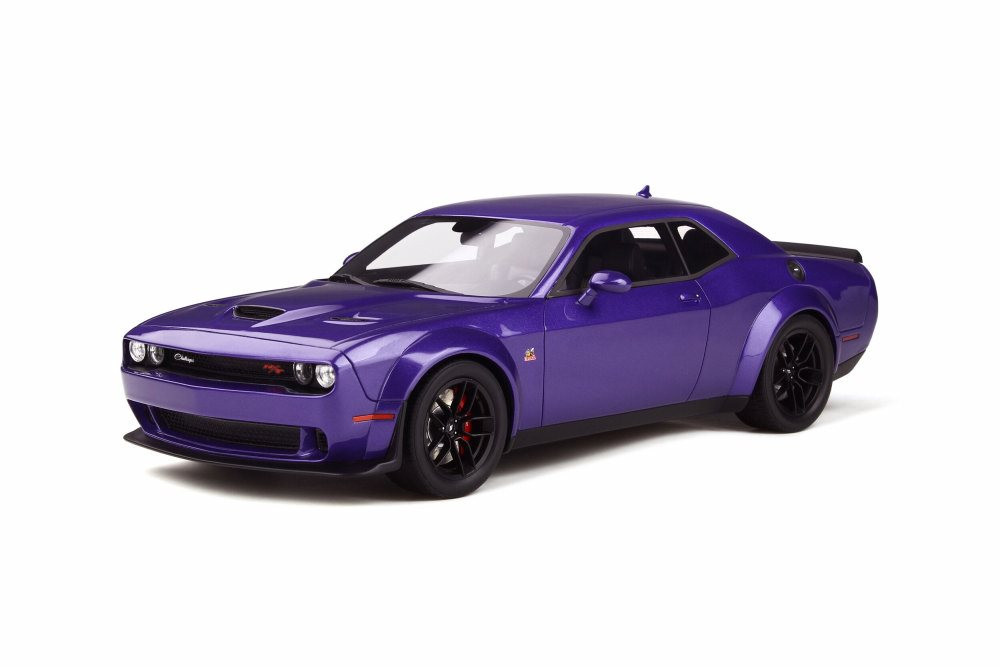 Dodge Challenger R/T Scat Pack Widebody Hardtop, Purple - GT Spirit GT248 - 1/18 scale Resin Model Toy Car