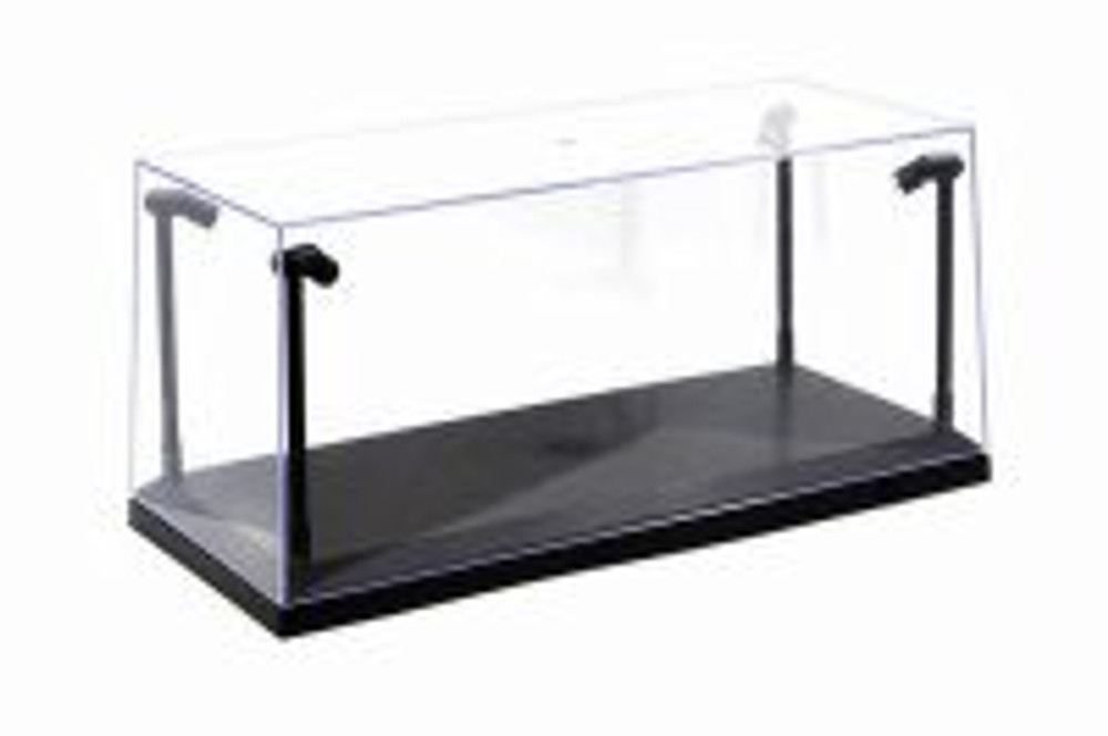 Acrylic LED Display Case, Black - ModelToyCars 9920BK - 1/18 Scale Display Case for Diecast Cars