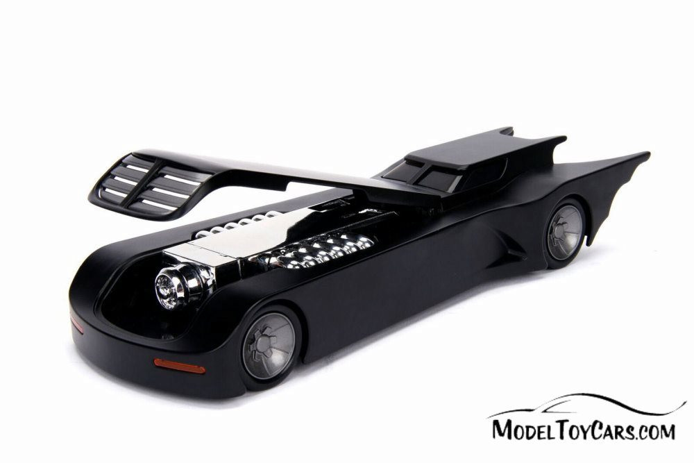 Batmobile Animated Series, Batmobile - Jada 30943 - 1/24 scale Diecast Model Toy Car