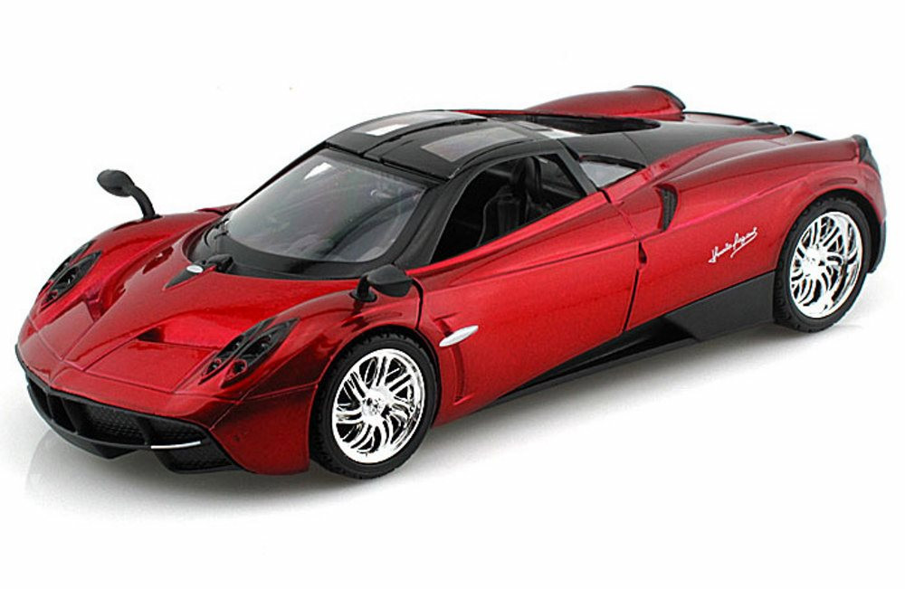 Pagani Huayra, Red - Motormax 79312 - 1/24 Scale Diecast Model Car