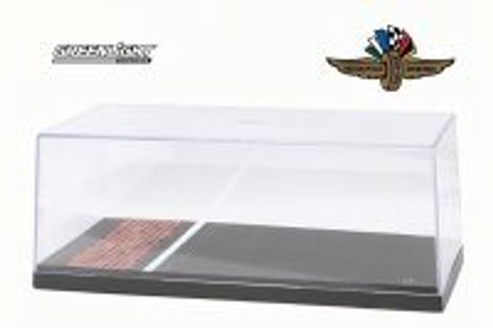 Acrylic Display Case for Replica Vehicles, Asphalt & Brick - Greenlight 55021 - 1/18 Scale Accessory for Diecast Cars