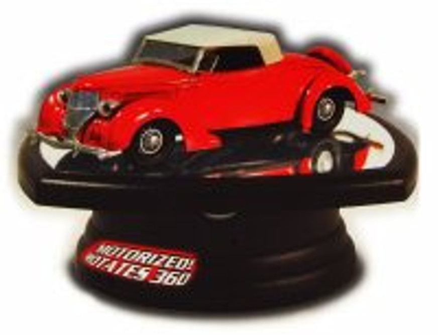 1/32 Scale Diecast Model Car Rotating Display Stand with mirror base - Lindberg HL14105 - diecast model car display stand