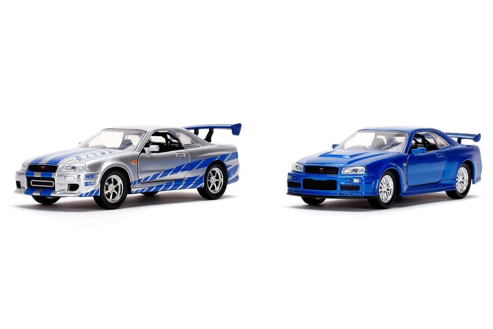 Brian's Nissan Skyline GT-R Hardtop, Fast & Furious - Jada Toys 31980 - 1/32 scale Diecast Model Toy Car