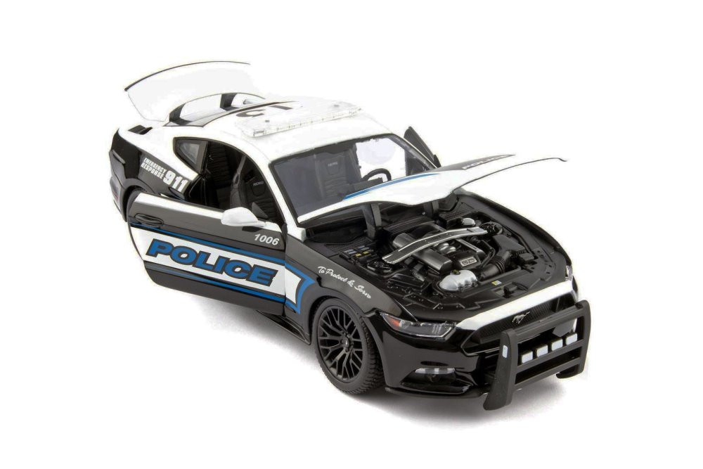 Maisto 1/18 2015 Ford Mustang Police Play Vehicles Toys & Games ...