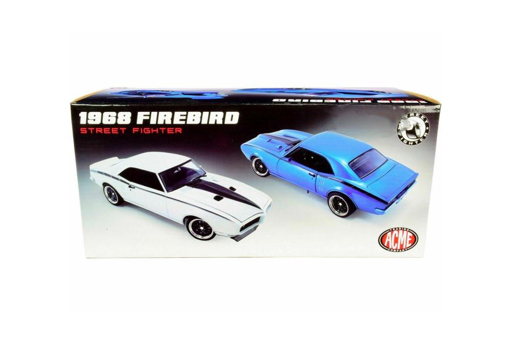 1968 Pontiac Firebird Street Fighter, Cameo Cream/Ivory - Acme A1805212 - 1/18 scale Diecast Model Toy Car