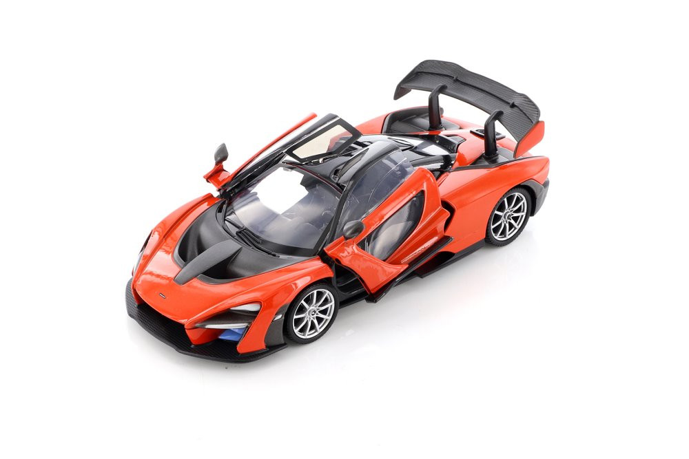 MotorMax McLaren Senna Diecast Car Set - Box of 4 1/24 Scale Diecast Model Cars, Assorted Colors