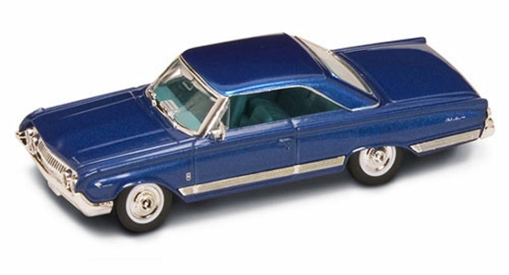 1964 Mercury Marauder, Blue - Road Signature 94250 - 1/43 Scale Diecast Model Toy Car