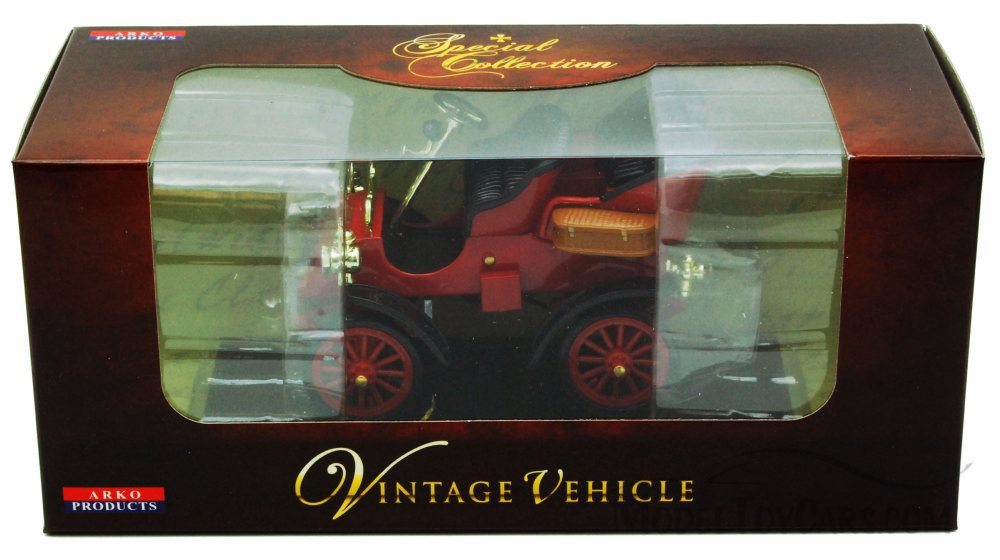 1903 Ford Model A, Red - Arko 00301 - 1/32 Scale Diecast Model Toy Car