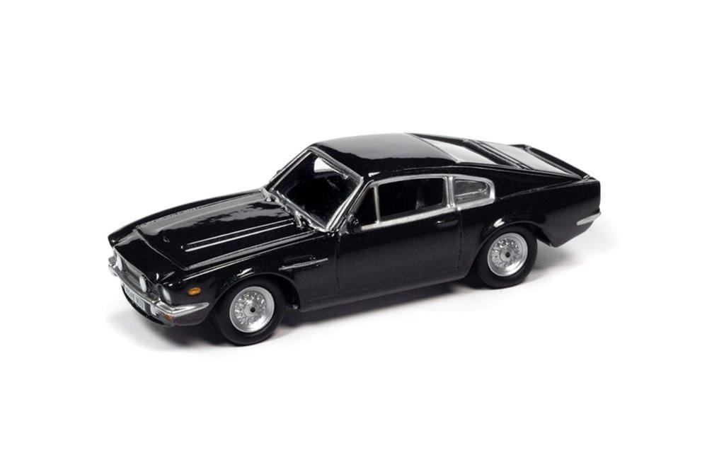 1987 Aston Martin V-8 w/Tin, James Bond No Time to Die - Johnny Lightning JLDR014/24 - 1/64 scale Diecast Model Toy Car